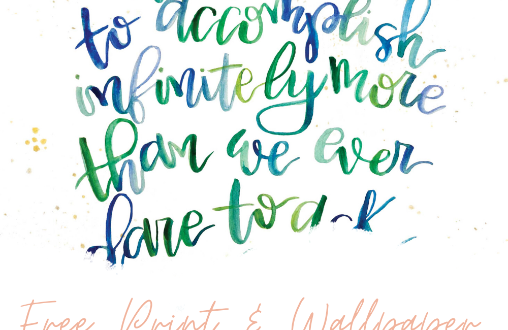 He Is Able January 2019 Free Desktop and iPhone Wallpaper by Melissa Lewis