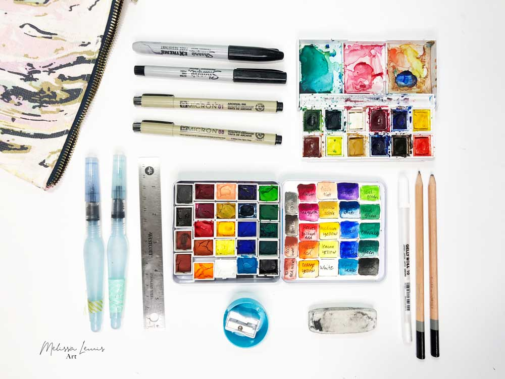 How To Get That Perfect Art Supply Bag For Creating On The Go by Melissa Lewis