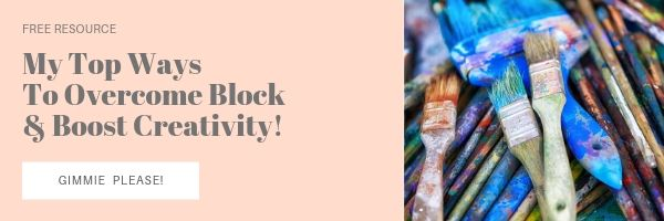 My top ways to overcome block and boost creativity free resource by Melissa Lewis